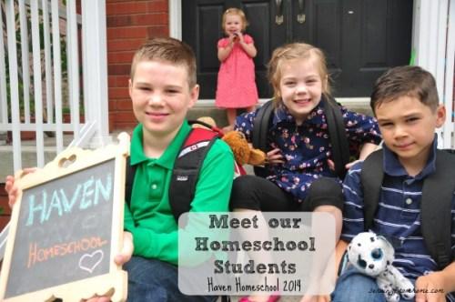 Meet our Homeschool Students