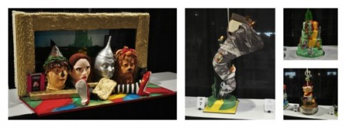 Baking and Sweets Show Wizard of Oz Cakes