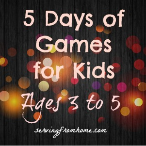 Games for Kids ages 3 to 5