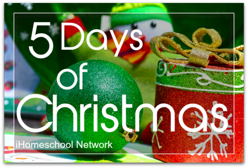 ihomeschool 5 days of christmas