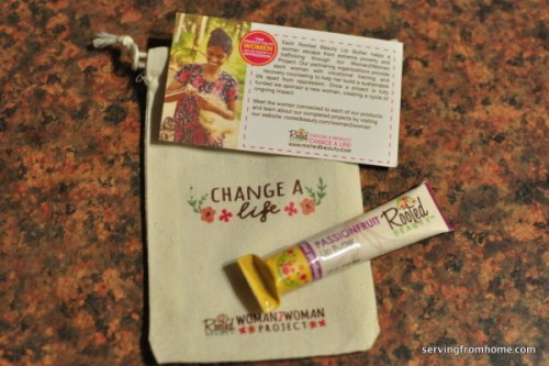 Rooted Beauty lip butter change a life