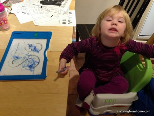 S is for scribbling