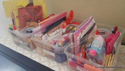 kids art activity boxes