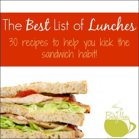 best list of lunches