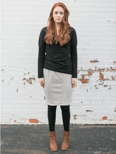 Garment Collective Sweatskirt midi