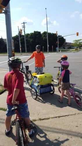 Family biking 2015