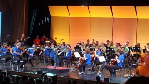 orchestra field trip 2015