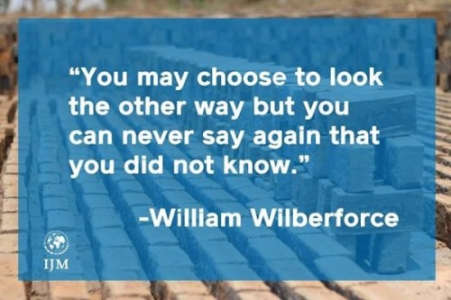 wilberforce trafficking quote