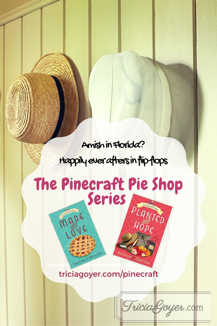 Pinecraft Pie Shop series by Tricia Goyer