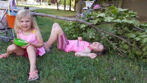 summer break and heat exhaustion
