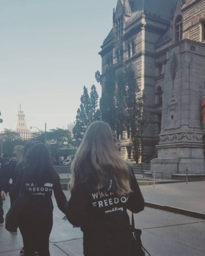 A21 Campaign Walk for Freedom