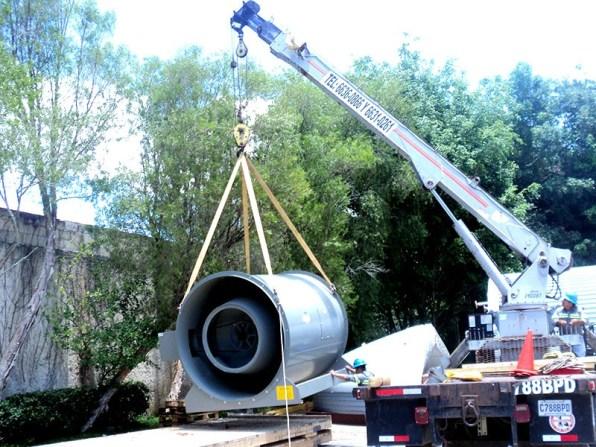 Carga de turbina