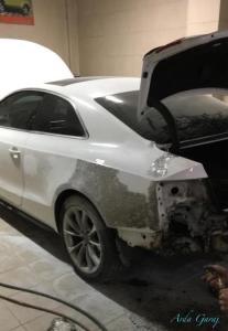 Audi kaporta tamiri