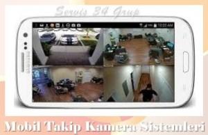 mobil sistemle kamera takibi