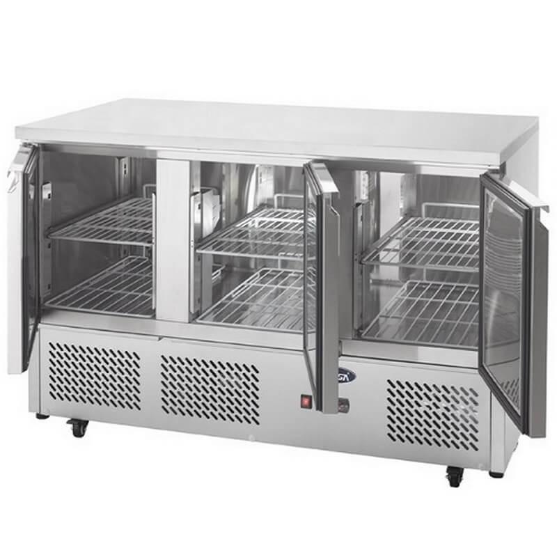 meuble compact refrigeree gn1 1 3 portes