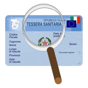 Tessera sanitaria - codice fiscale - carta servizi - calcolare il codice fiscale