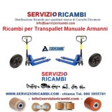 Ricambi transpallet manuale armanni