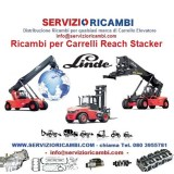 Ricambi per Reach Stackers Linde