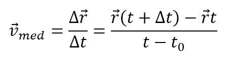 formula vitezei medii vectoriala