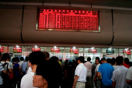 _MG_7282 Papan jadwal KA di Stasiun Hongzhou copy