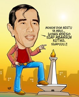 Jokowi mbangun kota