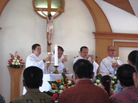 Atma Jaya misa perpustakaan 4
