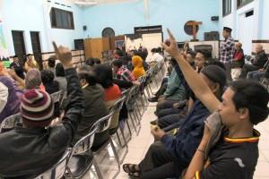 Dialog Kemanusiaan. Para peserta dialog kemanusiaa (Foto : Ignatius Yunanto)