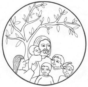 Yesus dan anak2 by Jardinier de Dieu