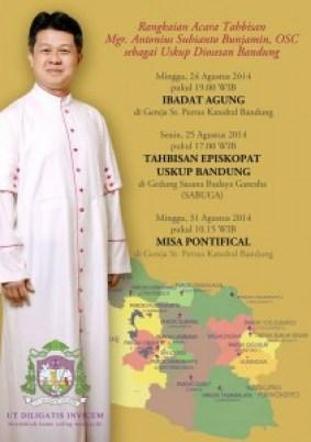 undangan misa uskup bandung