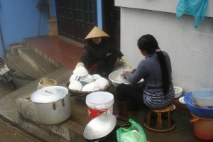 pedagang pinggir jalan di sapa vietnam by mathias hariyadi