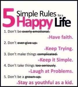 tips hidup bahagia