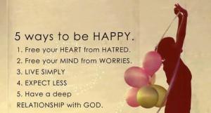 hepi bahagia bersama tuhan