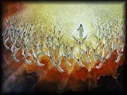 yesus datang dalam kemuliaan