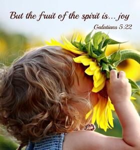 buah roh adalah sukacita