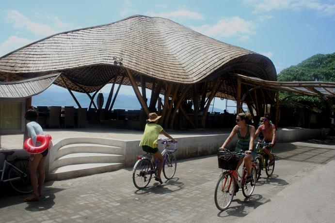 Gili Trawangan Lombok naik sepeda