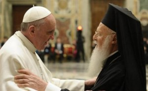 Pope-Francis-and-Ecumenical-Patriarch-Barthlomew-e1401659570292