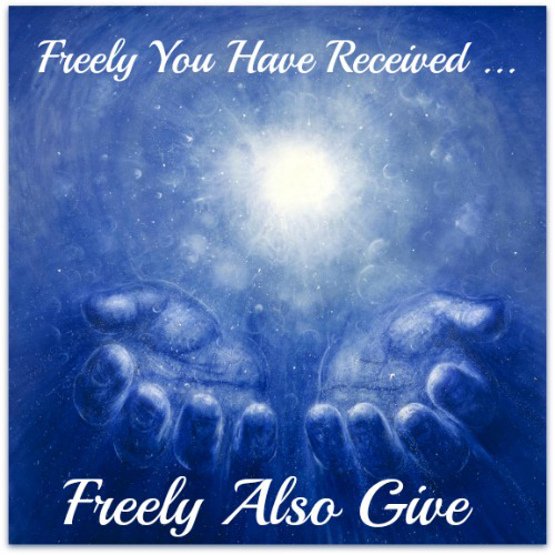 Kuvahaun tulos haulle Freely you have received, freely give.