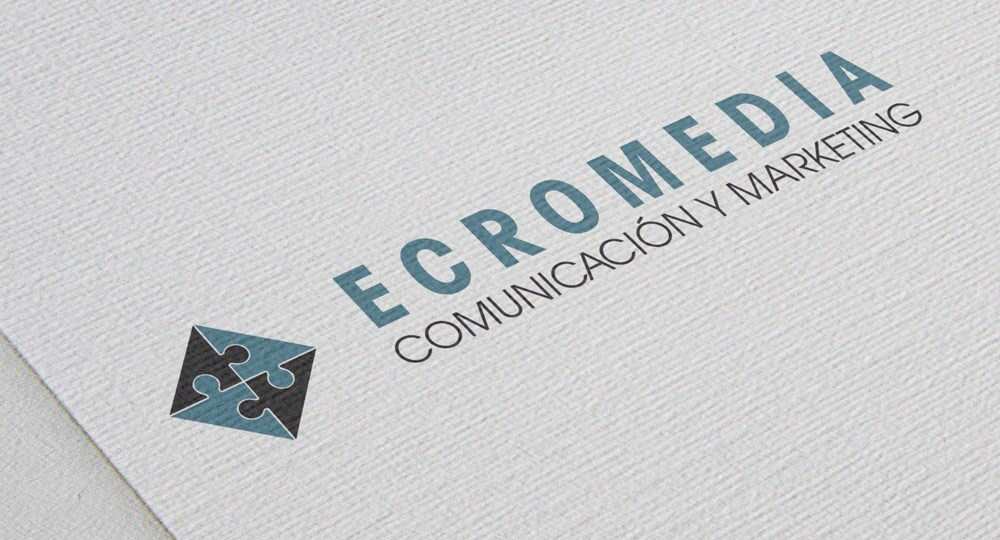 Diseño de logo Ecromedia