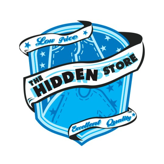 Diseño de Logo para The Hidden Store