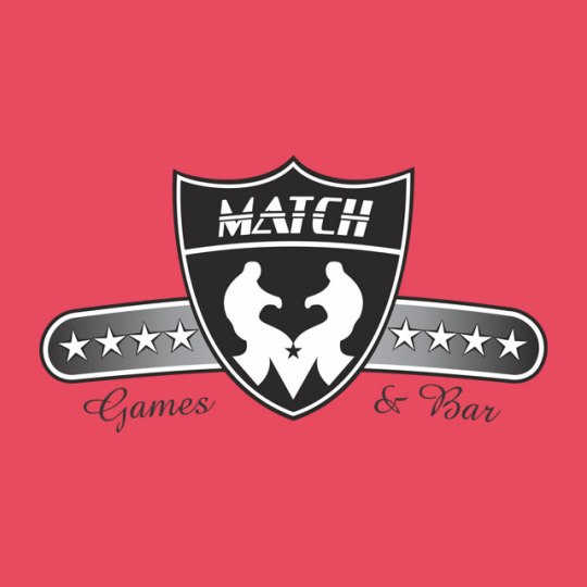Diseño de logo para Match Bar and Games