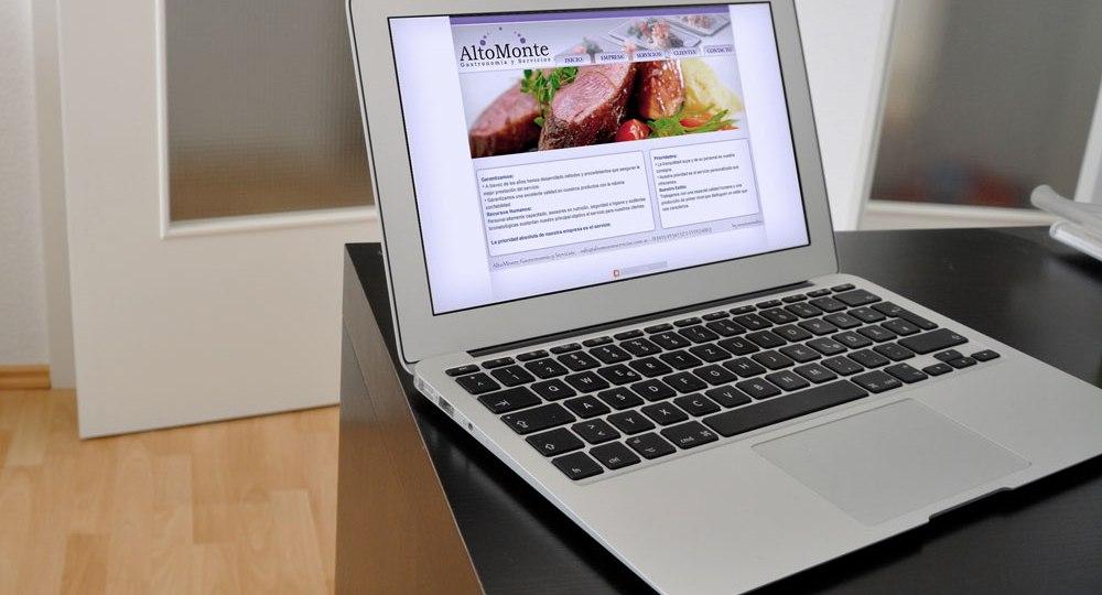 diseño web altomonte servicios