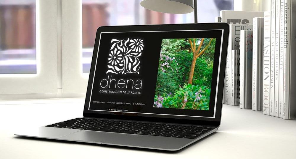 Diseño web para Dhena