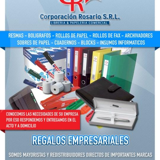Diseño de Newsletter Corporación Rosario