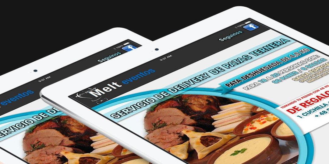 Diseño de Newsletter para Infoenvios – Cliente: Melt Eventos