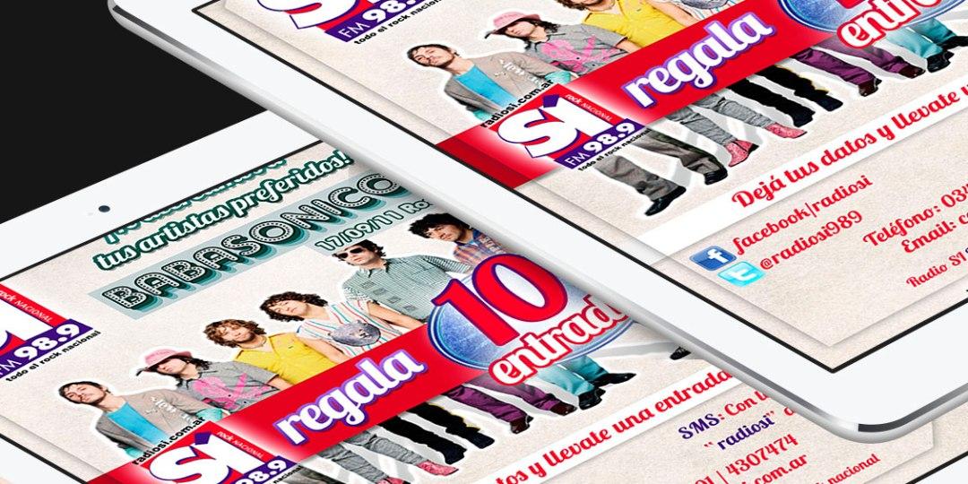 Diseño de Newsletter para Infoenvios – Cliente: Radio Si
