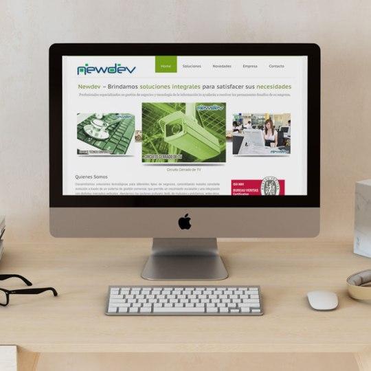 diseño web newdev