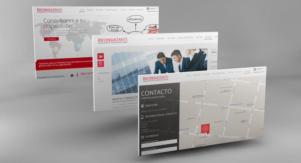 Diseño web BIC