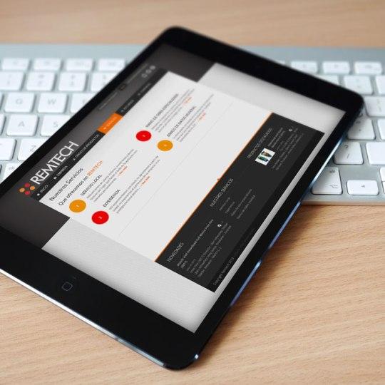 Diseño web Remtech