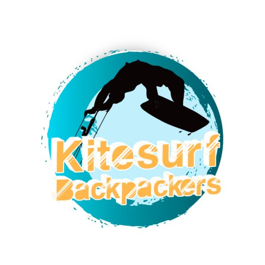 Diseño de logo Hostel Kitesurf Backpackers