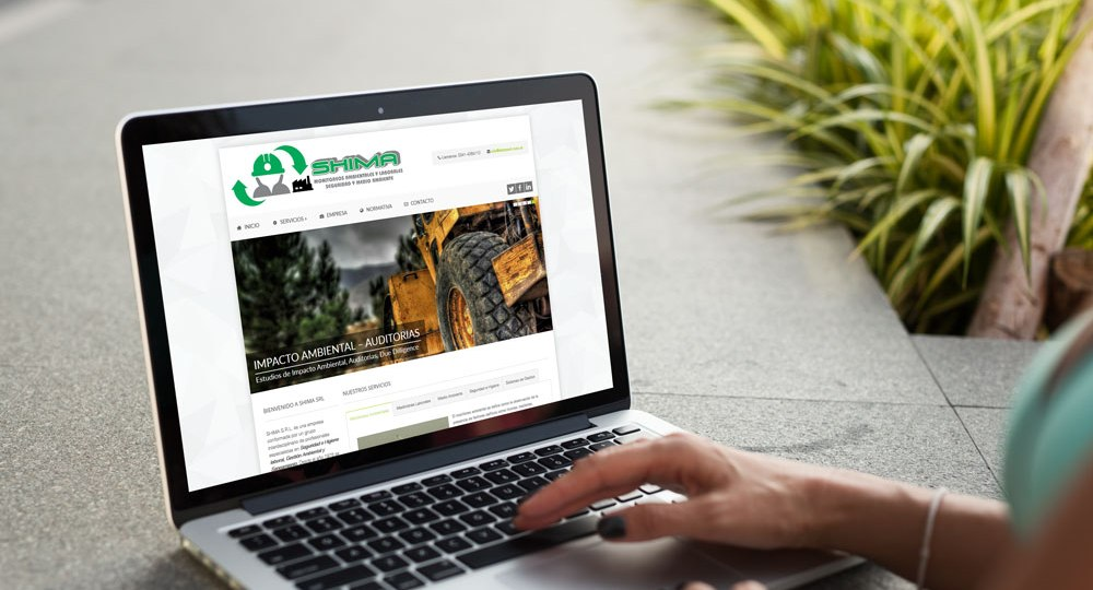 Diseño web Shima SRL